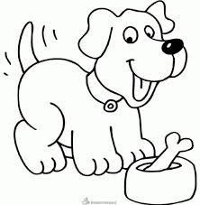 Kleurplaten Hond En Puppy