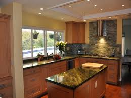 Natural Contemporary Kitchen Design Asian Style