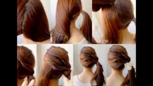 Hair Style Simple simple juda hair style best hairstyle photos on pinmyhair 5474 by wearticles.com