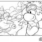 Small Picture Club Penguin Coloring Pages Club Penguin Island Cheats