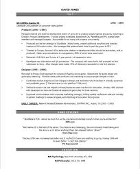 Production Resumes Resume Video Production Resume Samples Economiavanzada Com