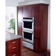 kitchenaid 27 8 6 total cu ft self clean double wall oven with upper convection