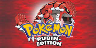 Pokémon Rubin-Edition   Game Boy Advance   Spiele