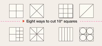 Quilt Ideas for 10-inch Squares - Free Tutorial - Keepsake Quilting & eight ways to use 10 inch precut fabric squares Adamdwight.com