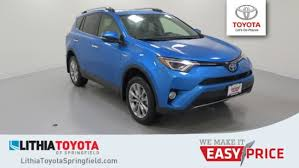 2018 toyota electric. Plain Electric New 2018 Toyota RAV4 Hybrid Limited SUV Springfield OR Inside Toyota Electric