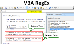 Vbscript Msgbox Chart Numbers Vba Regex How To Use Regular Expression In Vba Excel