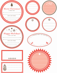 Christmas Gift Labels Templates Word Gift Tag Template Word Best Of Printable Gift Tag Templates
