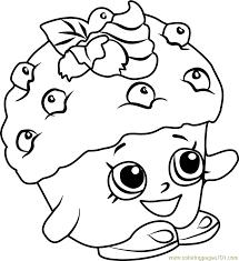 Small Picture Mini Muffin Shopkins Coloring Page Free Shopkins Coloring Pages