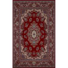 liorra manne coventry red area rug 4 piece set
