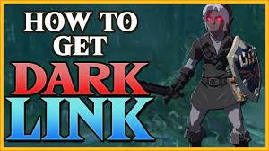 How To Get Dark Link And Dark Master Sword The Legend Of Zelda