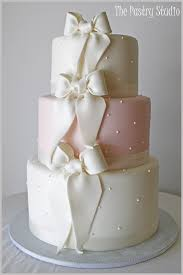 Soft Pink And White Classic Wedding Cake At Hammock Beach Resort