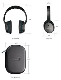 bose on ear headphones. bose quietcomfort 25 black headphones (ios devices) on ear