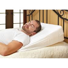 Home forts Memory Foam Wedge Pillow Pillows at