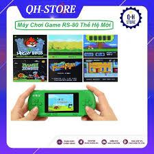 Máy chơi game cầm tay RS80, Giá tháng 11/2020