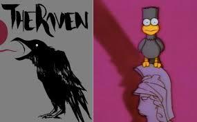 The Ravenu0027 GIF U2013 Treehouse Of Horror I 1990Simpsons Treehouse Of Horror Raven