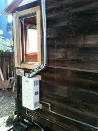 tiny house water heater. Matthew Wolpe\u0027s DIY Tiny House On A Trailer Project Water Heater E