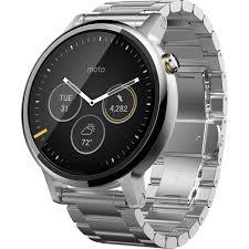 moto 2nd gen watch. moto 2nd gen 360 46mm men\u0027s smartwatch (silver, silver metal watch m