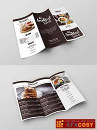 Brunch Cafe Trifold Menu Template 2962524 Free Download