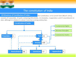 Indian Constitution Presented By Bibini Baby 2nd Yr M Sc
