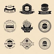 fast food restaurant logos crown. Jeu De FastFood Vintage Logo Image Vectorielle Inside Fast Food Restaurant Logos Crown