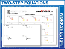 two step equations worksheet bundle by maths4everyone teaching resources tes
