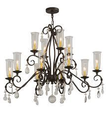 48 w zola 12 lt two tier chandelier 142887