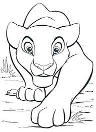 mountain lion coloring page pages baby colouring printable mount