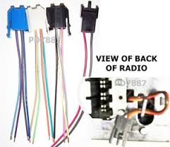 delco radio harness gm delco 4 connector radio wire harness 78 93 corvette camero truck