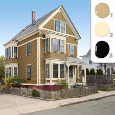 superb painting my house exterior colors on pertaining to picking the perfect paint mustard color scheme 7
