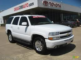 2004 Summit White Chevrolet Tahoe Z71 4x4 #47906179 Photo #3 ...