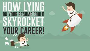 Lying On Resume Beauteous How Lying On Your Resume Could SkyRocket Your Career Rozee Weblog