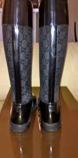 Posh Closet Shop Posh Closet Gucci Rain Boots Size 9 Online Store Powered