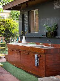 Perfect Look To Reuse It Centers And Salvage Yards For Inexpensive Outdoor Kitchen  Cabinets, Countertops, Building Supplies, Apartment Size Appliances, ... Good Ideas