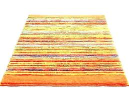 round yellow rug target