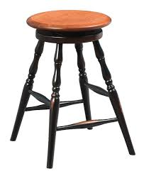 ask us a question amish backless wooden bar stool