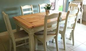 laura ashley kitchen tables dining table solid pine oak farmhouse dining table set chairs bench painted