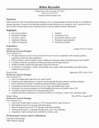 Shift Manager Resume Extraordinary Restaurant Shift Manager Sample Resume Greatest Restaurant Manager