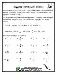 likewise Write fraction as decimal – 3 Worksheets   FREE Printable together with 4th grade Math Worksheets  Converting fractions and decimals likewise Math Worksheetsn Decimal Worksheet Converting Terminating And further Kindergarten Fractions Decimals Percents Fractions Information additionally Convert Fractions to Decimals 5 Worksheet   abcteach furthermore Convert Fractions To Percents Worksheet Worksheets moreover Converting Forms Worksheets as well Convert between Fraction  Decimal and Percent Worksheets further Decimal To Fraction Chart   kikyo us likewise Convert between Fraction  Decimal and Percent Worksheets. on converting fractions to decimals worksheet
