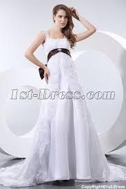 elegant straps lace maternity wedding dresses los angeles 1st