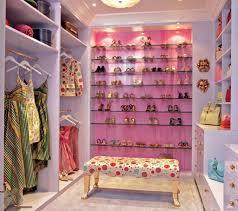 Walk in closet design for girls Ikea Beautiful Pink Closet Designs Creatistic Bedroom Beautiful Pink Closet Designs Beautiful And Small Girl