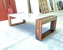 concrete top tables concrete top table concrete top coffee table concrete coffee table polished concrete and walnut coffee table concrete top table diy