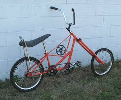 atomic zombie s chopwork orange chopper bicycle 20 steps with