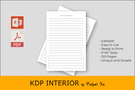 Kdp Daily Notes Graphic By Masyafi Creative Studio Creative Fabrica