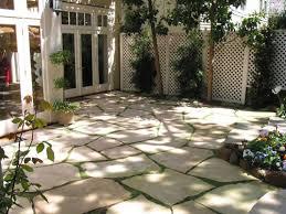 patio pavers go green in between