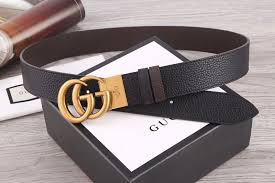 gucci 38mm reversible leather belt with double g buckle 474350