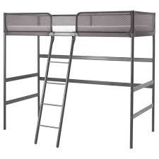 ikea tuffing loft bed frame a good solution where space is limited