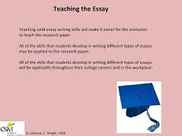teach to write an essay how to teach argumentative essay