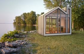modern cabin design. Fine Cabin The Bunkie Sleeping Cabin Architecture Meets Industrial Design  Throughout Modern Cabin L