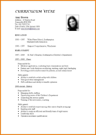 Standard Format Resume Cover Letter Sample