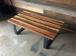 decoration reclaimed wood butcher block coffee table tables canada